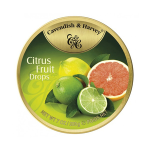 Cavendish & Harvey Candy Citrus Fruit Drops 200g