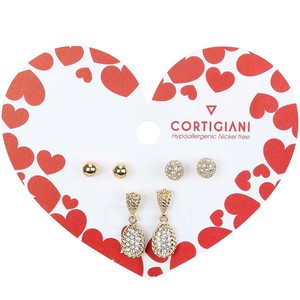 Cortigiani Valentine's Earrings Set CGN04