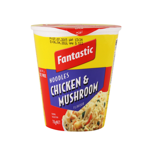 Fantastic Noodle Chicken And Mushroom Flavour 70g