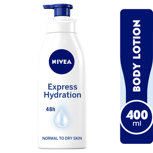 Nivea Body Lotion Express Hydration Normal To Dry Skin 400ml