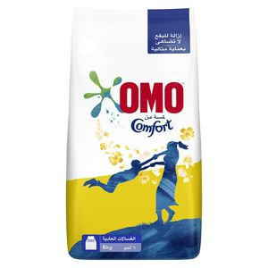 OMO Top Load Laundry Detergent Powder with Comfort 6kg