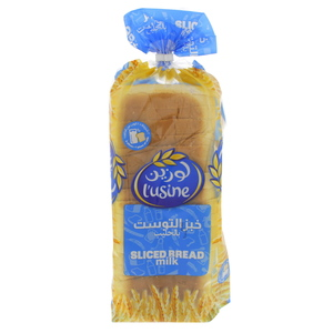 Lusine Sliced Milk Bread 600g