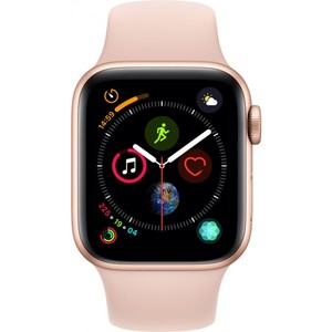 Apple Watch Series 4 - GPS 40mm Gold Aluminium Case with Pink Sand Sport Band