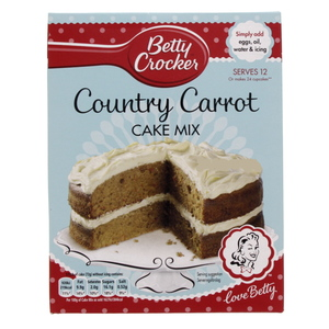 Betty Crocker Country Carrot Cake Mix 425 Gm