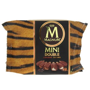 Magnum Mini Double Chocolate Caramel Ice-cream 6pcs