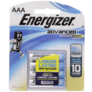 Energizer Advanced + Power Boost AAA Battery X92RP8