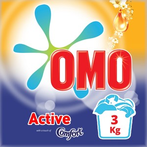 OMO Active Fabric Cleaning Powder with Comfort 3kg
