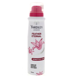 Yardley Feather Eternal Perfumed Deodorant Body Spray 150ml