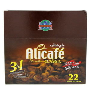 Alicafe Classic 3 in 1 Regular Coffee 20g