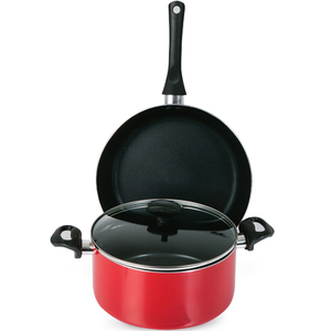 Chefline Dutch Oven 24cm + Fry Pan 28cm