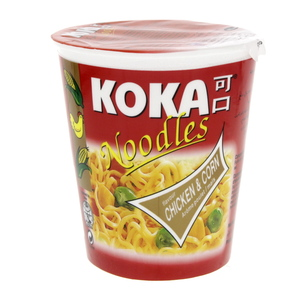 Koka Noodles Chicken And Corn Flavour  70g