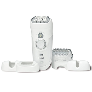 Braun Silk Epilator Wet & Dry Legs, Body & Face 7681WD