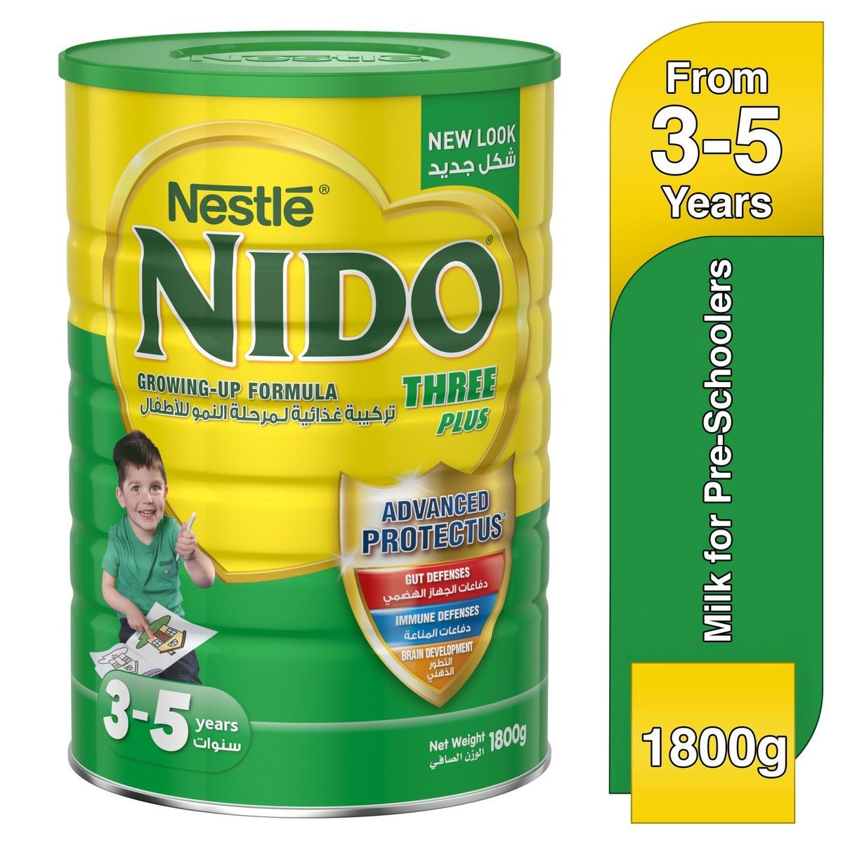 Buy Nestle® Nido® Fortiprotect™ Three Plus Growing Up Milk 3