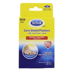 Scholl Corn Shield Plasters 6pcs