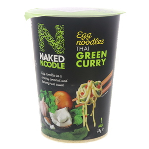 Naked Noodle Thai Green Curry Egg Noodles 78g