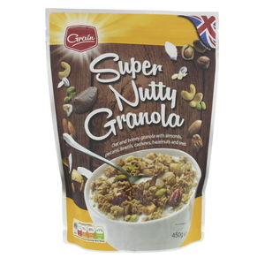 Grain Super Nutty Granola 450g