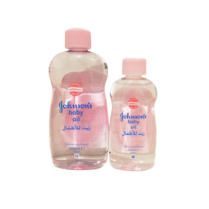 Johnson & Johnson Baby Oil 500ml + 200ml