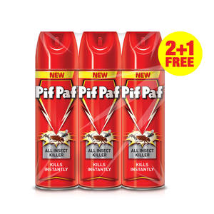 Pif Paf Power Guard All Insect Killer 3 x 300ml