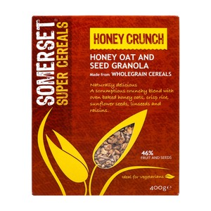 Somerset Super Cereals Honey Crunch 400g