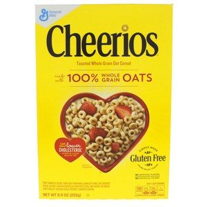 General Mills Cheerios Whole Grain Oats Cereal 252g