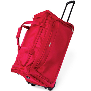 "Wagon R 2 Wheel Duffle Trolley Bag 5910 26"" Assorted Color"