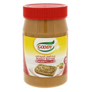 Goody Peanut Butter Chunky 510g
