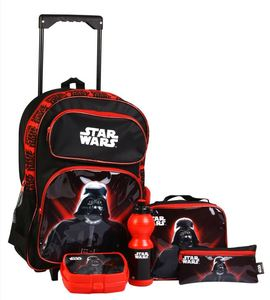 StarWars Trolley Value Pack Set of 5Pcs 160539 18in
