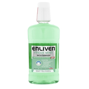 Enliven Mouthwash Fresh Mint 500ml