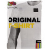 Fruit Of The Loom Mens T-Shirt Crew Neck 3 Piece Small