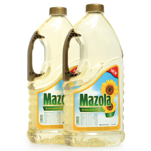 Mazola Sunflower Oil 1.8Litre 2pcs