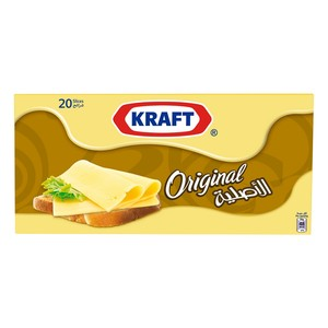 Kraft Cheese Slices Original 400g