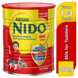 Nestle® Nido® Fortiprotect™ One Plus Growing Up Milk 1-3 Years 400g