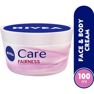 Nivea Care Fairness Face & Body Cream SPF 15 100ml