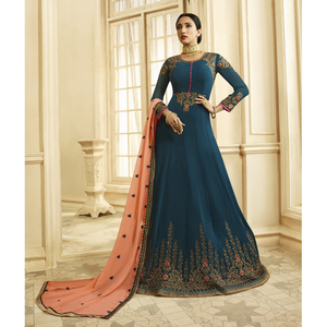 Semi Stitched Women's Anarkali Suit Zubeda Seher 14903