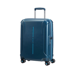 American Tourister Technum Spinner 4Wheel Hard Trolley 67cm Metallic Blue