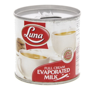 Luna Full Cream Evaporated Milk 170g