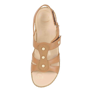 Von Wellx Women's Sandals 14002 Beige 36