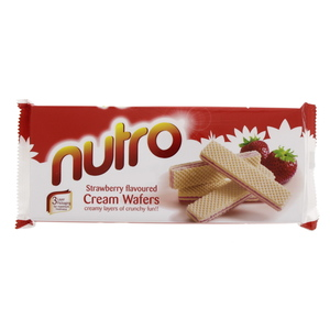 Nutro Strawberry Flavoured Cream Wafers 150g