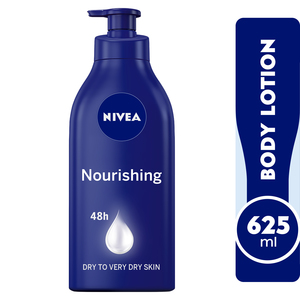 Nivea Body Care Body Lotion Nourishing Dry to Very Dry Skin 625ml