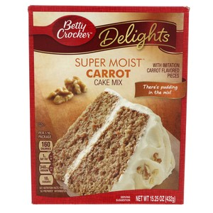 Betty Crocker Delights Super Moist carrot Cake Mix432g