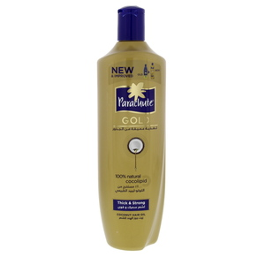 Parachute Gold Coconut Hair Oil Thick And Strong 400ml