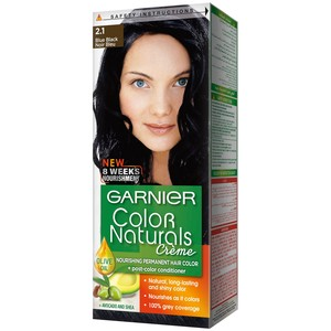 Garnier Color Naturals 2.10 Blue Black Hair Color 1 Packet
