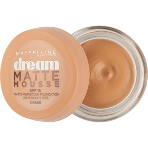 Maybelline Dream Matte Mousse Foundation Nude 21 1pc