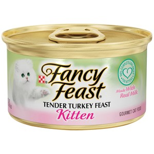 Purina Fancy Feast Kitten Turkey Wet Cat Food 85 Gm