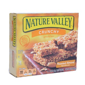 Natural Valley Crunchy Granola Bar Roasted Almond 253g