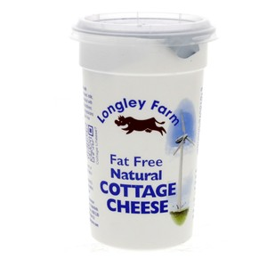 Longley Natural Cottage Cheese  Fat Free 250g