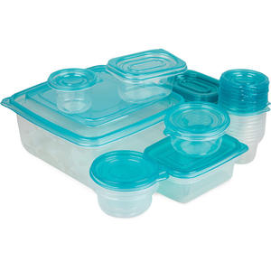 Lulu Food Container Set Assorted Color 23pcs