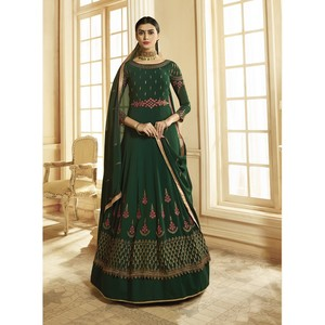 Semi Stitched Women's Anarkali Suit Zubeda Seher 14901