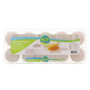 KCF Fresh Duck Eggs 10Pcs