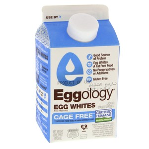 Eggology Egg Whites Liquid Pasteurized 473ml
